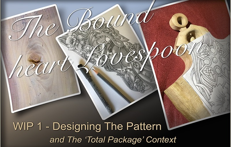 'Bound Heart' Lovespoon – The Pattern Design